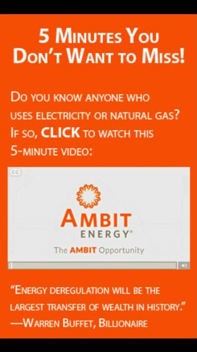 Rich Ost Ambit Energy Gold Rush